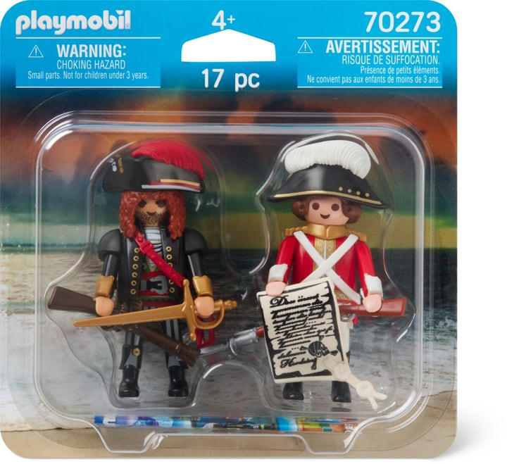 PLAYMOBIL 70273 PIRATE ET SOLDAT 748027700000 Photo no. 1