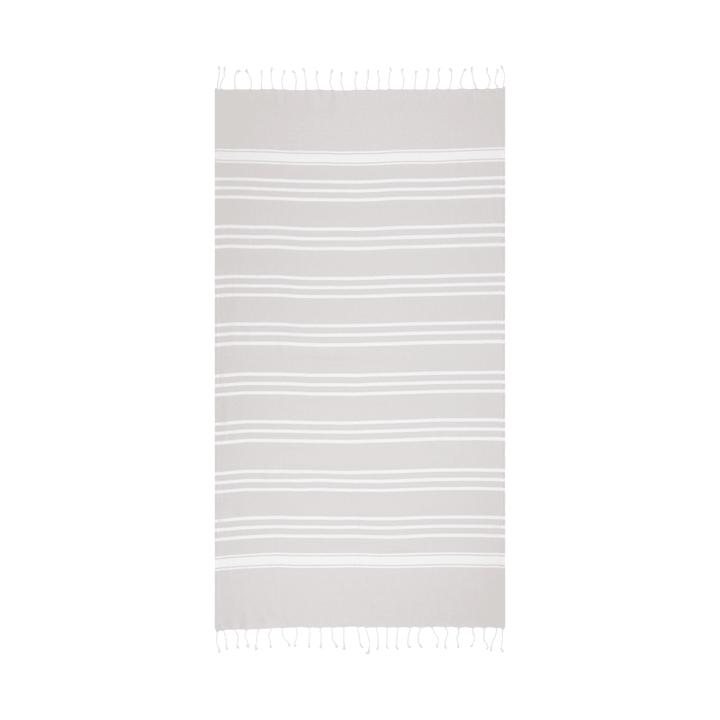JOSEFINA Hamamtuch 374143920680 Grösse B: 100.0 cm x H: 180.0 cm Farbe Grau Bild Nr. 1