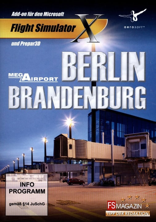 PC - Berlin-Brandenburg Mega Airport (Add-On für FSX und Prepar3D) Fisico (Box) 785300127048 N. figura 1