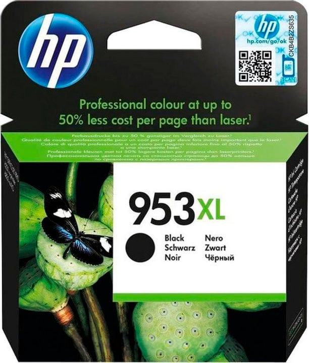 cartouche d'encre 953XL L0S70AE noir HP 795850300000
