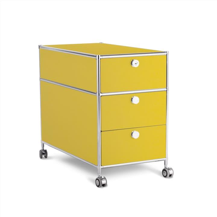 QUADRO Cassettiera 364016100000 Dimensioni L: 42.0 cm x P: 77.0 cm x A: 67.5 cm Colore Giallo N. figura 1