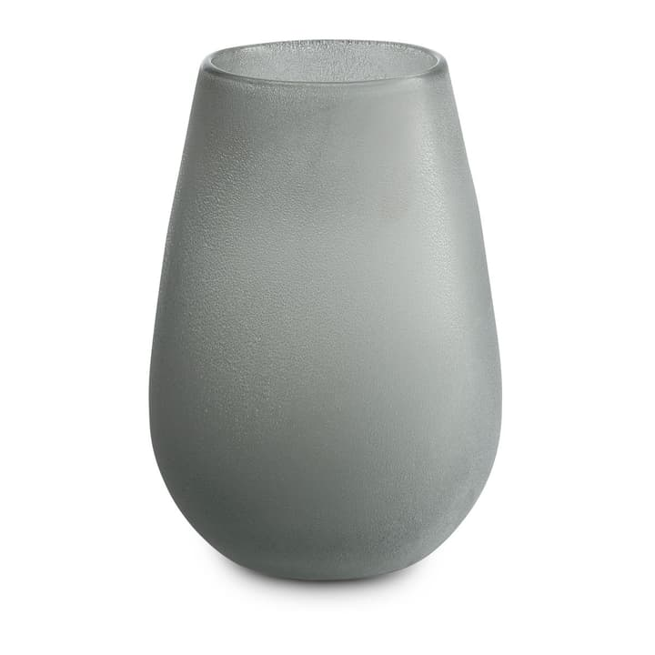 FROSTED Vase 396086900000 Dimensions L: 15.5 cm x P: 15.5 cm x H: 22.5 cm Couleur Gris Photo no. 1