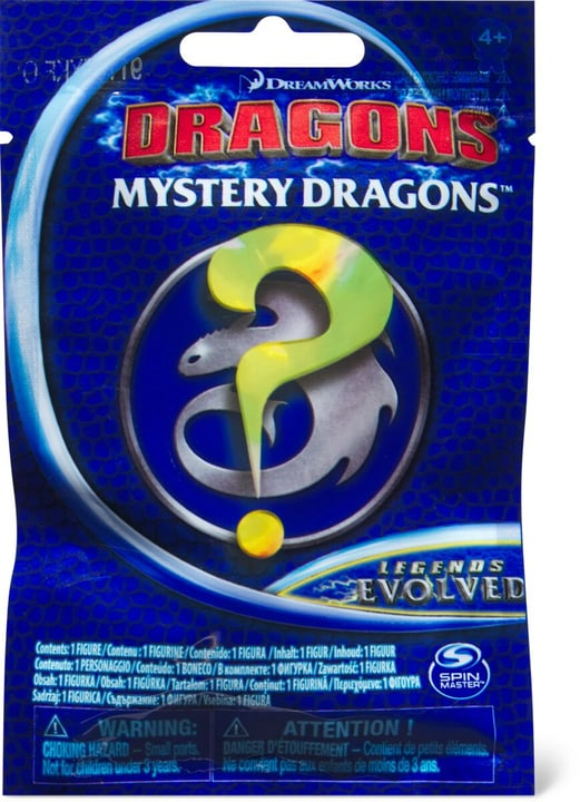 Dragons Mystery 1 Surprise Bag 748660100000 Photo no. 1