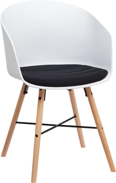 BRERA Stuhl 402398300000 Grösse B: 51.0 cm x T: 54.5 cm x H: 81.0 cm Farbe Schwarz Bild Nr. 1