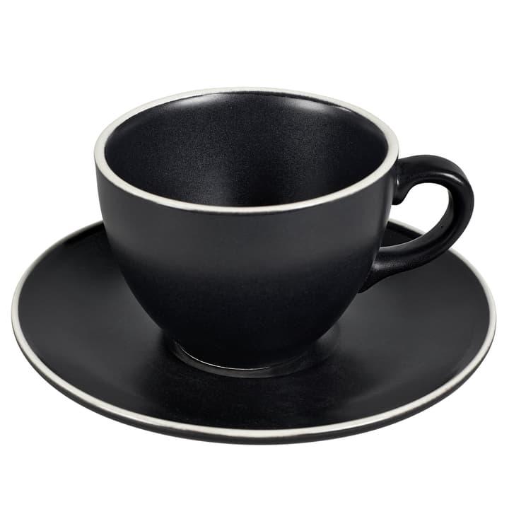 MAELLE Kaffeetasse inkl. Untertasse 440268600020 Farbe Schwarz Grösse H: 7.8 cm Bild Nr. 1