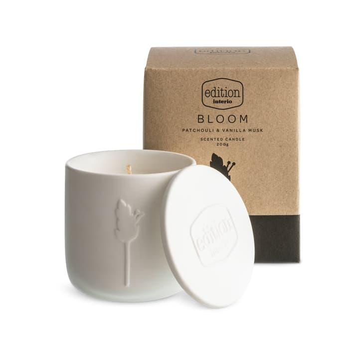 BLOOM bougie parfumée Vanilla Edition Interio 396112900000 Contenu 200.0 g Arôme Vanille Photo no. 1