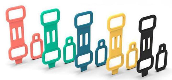 Invoxia Zubehör Clasps 5 Farben je zwei Halsband 785300150012 N. figura 1