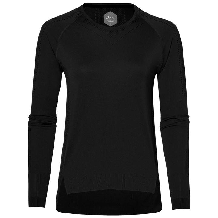 SEAMLESS LS Damen-Langarmshirt Asics 470144500320 Farbe schwarz Grösse S Bild-Nr. 1