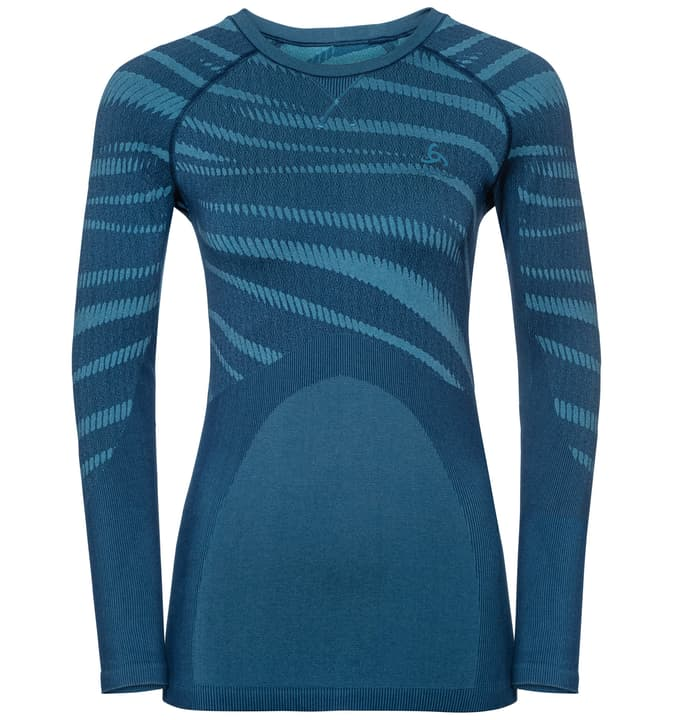 Performance Blackcomb Damen-Langarmshirt Odlo 477077700422 Grösse M Farbe dunkelblau Bild-Nr. 1