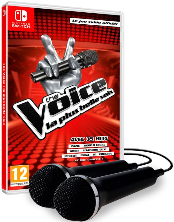 NSW - The Voice - La plus belle voix (incl. 2 mics) Box 785300141941 Langue Français Plate-forme Nintendo Switch Photo no. 1