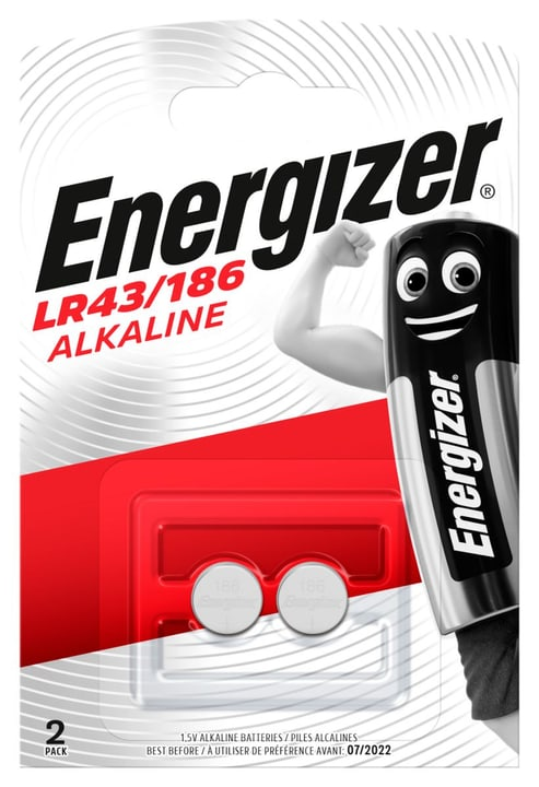 LR43/186 1.5 V 2p. Knopfzelle Energizer 792209400000 Photo no. 1