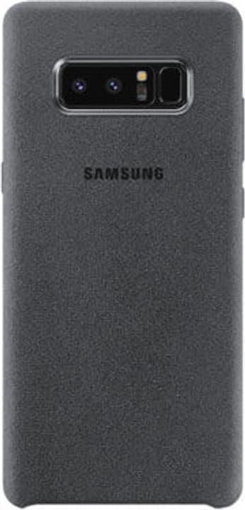 Alcantara Cover Note 8 d.grau Hülle Samsung 785300130370 Bild Nr. 1