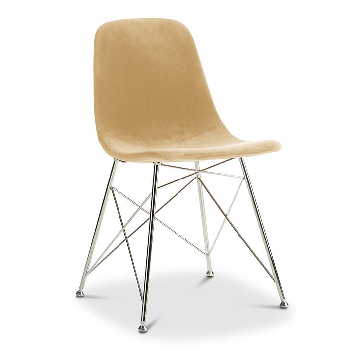 SEDIA Chaise 366170000000 Couleur Brun clair Dimensions L: 45.0 cm x P: 41.5 cm x H: 84.5 cm Photo no. 1