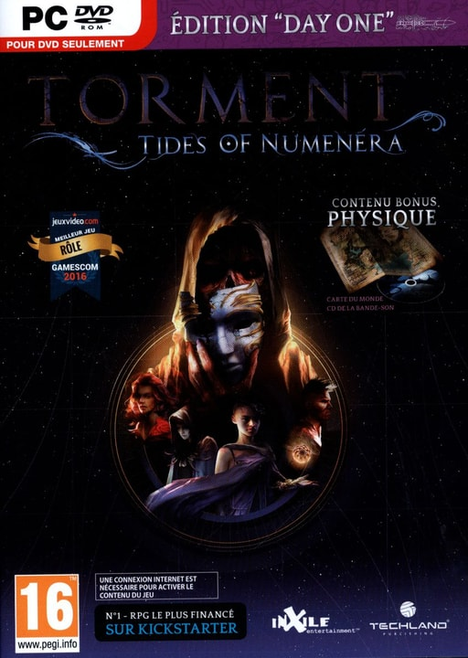 PC -  Torment: Tides of Numenera Day One Edition Physisch (Box) 785300121918 Bild Nr. 1