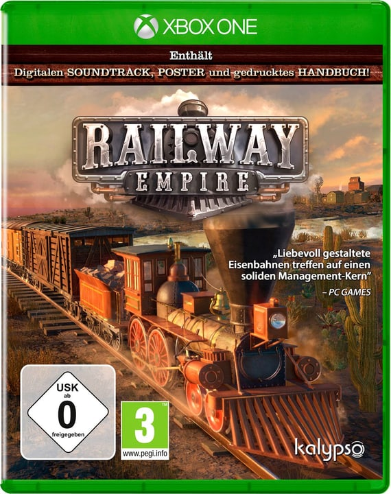 Xbox One - Railway Empire - F/I Physisch (Box) 785300131665 Bild Nr. 1