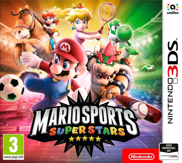 3DS - Mario Sports Superstars Box 785300129388 Photo no. 1