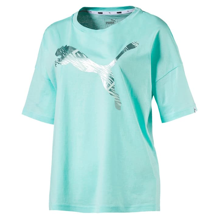 SUMMER Fashion Tee Damen-T-Shirt Puma 462387900325 Farbe aqua Grösse S Bild-Nr. 1