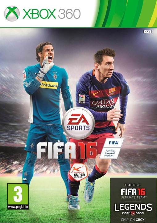 Xbox 360 - FIFA 16 Physique (Box) 785300120014 Photo no. 1