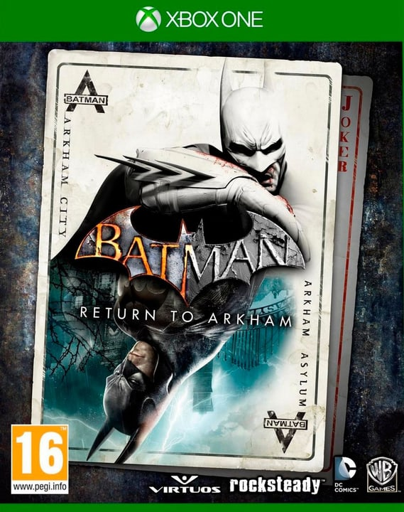 Xbox One - Batman: Return to Arkham Box 785300121454 Photo no. 1