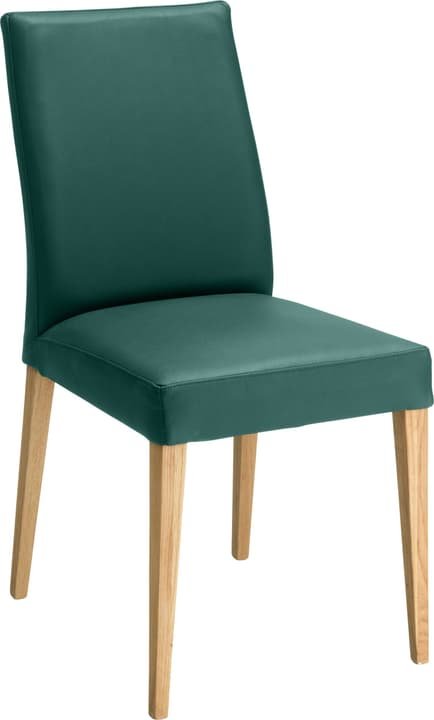 SERRA Chaise 402355500060 Dimensions L: 46.0 cm x P: 57.0 cm x H: 92.0 cm Couleur Vert Photo no. 1