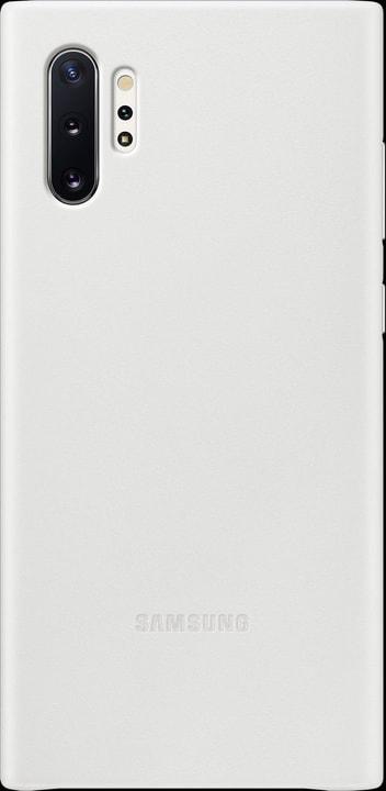 Leather Cover white Coque Samsung 785300146384 Photo no. 1