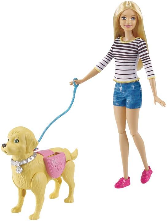 Barbie Hundespaziergang Barbie & Hündchen 746536500000 Bild Nr. 1