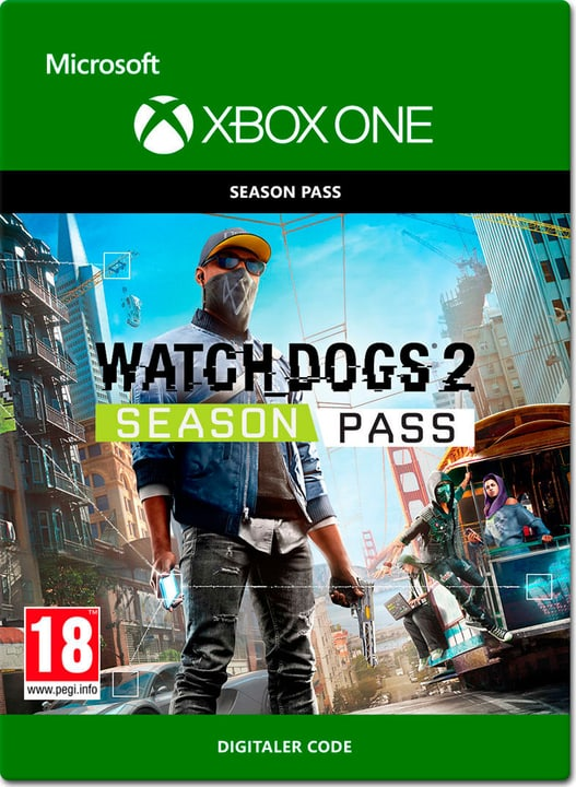 Xbox One - Watch Dogs 2 Season Pass Digital (ESD) 785300137278 N. figura 1