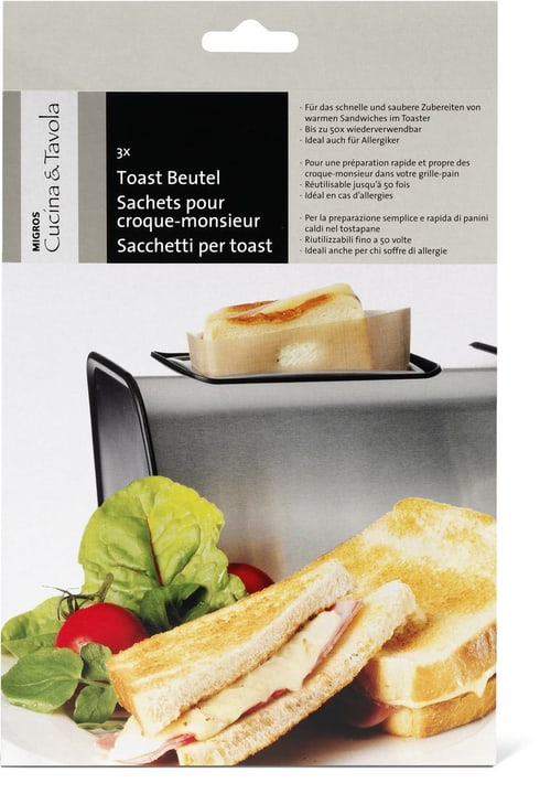 CUCINA & TAVOLA Sachets pour croque-monsieur Cucina & Tavola 703173600000 Photo no. 1