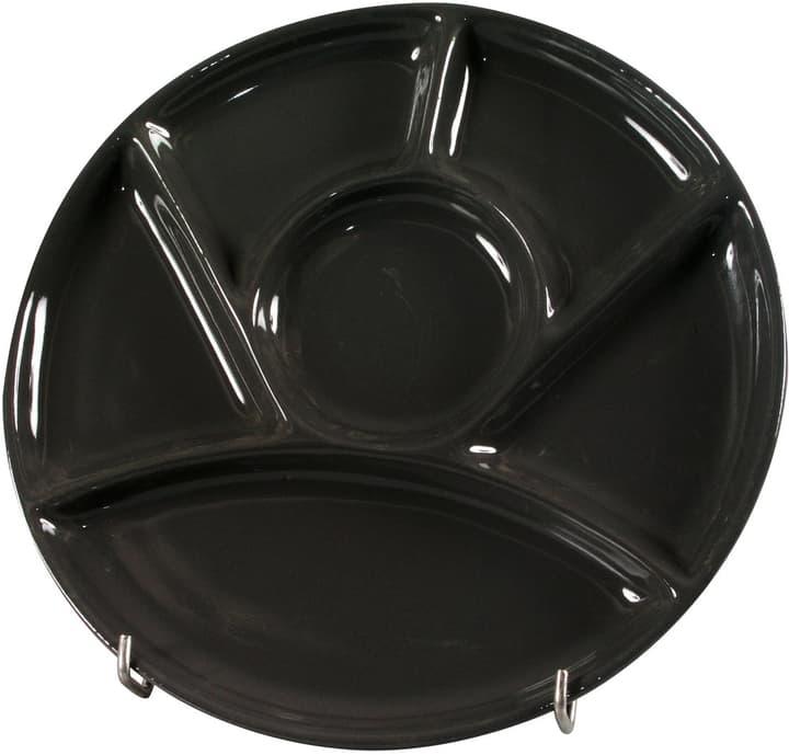 CHALET Fondueteller 444834900020 Farbe Schwarz Grösse H: 2.5 cm Bild Nr. 1