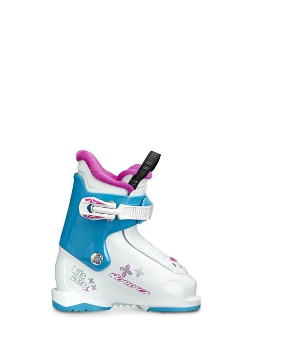 Little Belle 1 Kinder-Skischuh Nordica 495310626510 Farbe weiss Grösse 26.5 Bild-Nr. 1