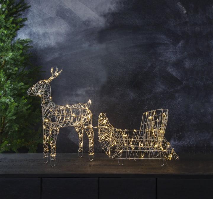 LED Rentier mit Schlitten Star Trading 61319460000018 Bild Nr. 1