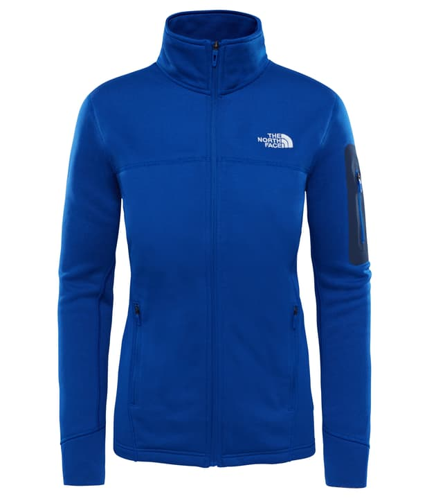 Kyoshi Damen-Fleecejacke The North Face 461066500340 Farbe blau Grösse S Bild-Nr. 1