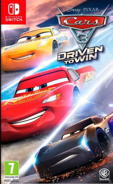 Switch - Cars 3 Physique (Box) 785300122366 Photo no. 1