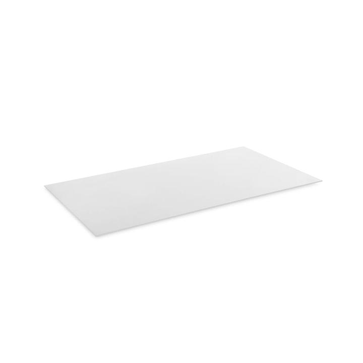 ZILO Ripiani in vetro 362020748524 Dimensioni L: 63.5 cm x P: 36.2 cm x A: 0.4 cm Colore Bianco N. figura 1