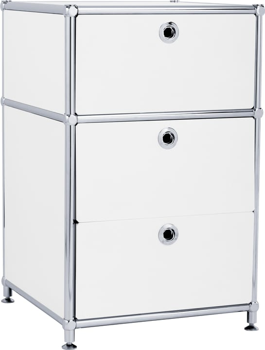 FLEXCUBE Caisson 401808500010 Dimensions L: 40.0 cm x P: 40.0 cm x H: 62.5 cm Couleur Blanc Photo no. 1