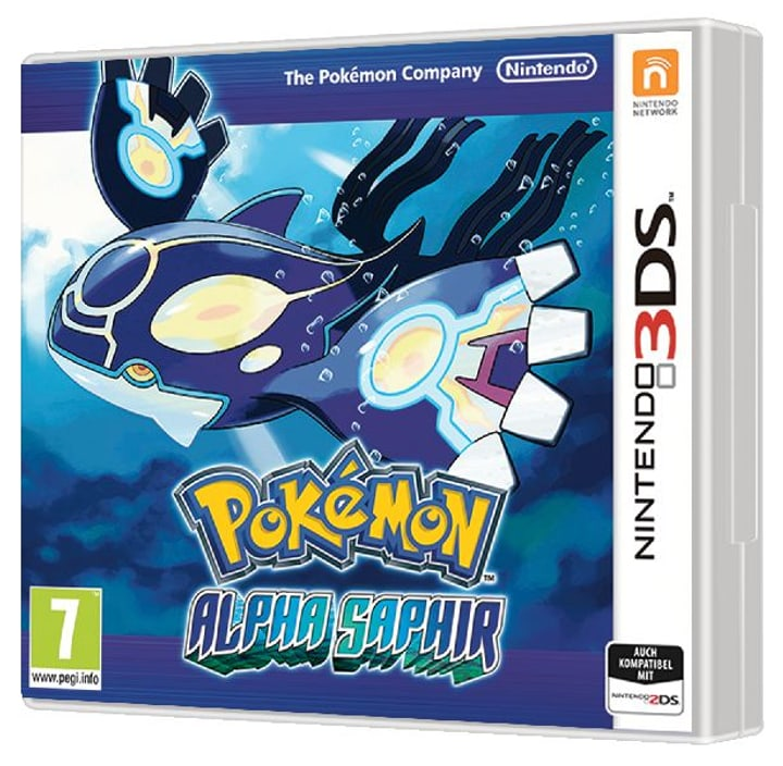 3DS - Pokémon Alpha Saphir 785300119084 Photo no. 1