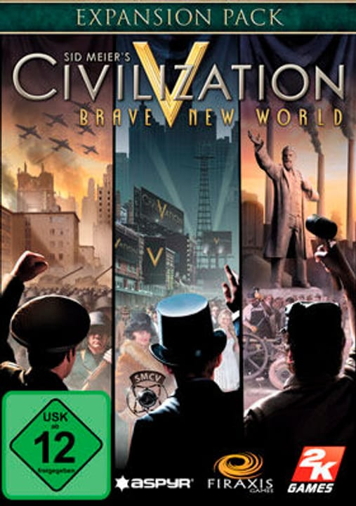 PC Sid Meier's Civilization V: BNW (Mac) Digitale (ESD) 785300133361 N. figura 1