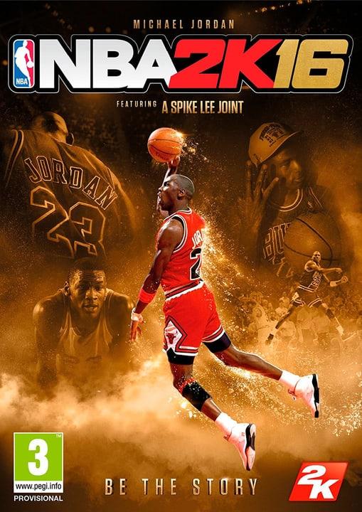 PC - NBA 2K16 - Michael Jordan Edition Download (ESD) 785300133323 Photo no. 1