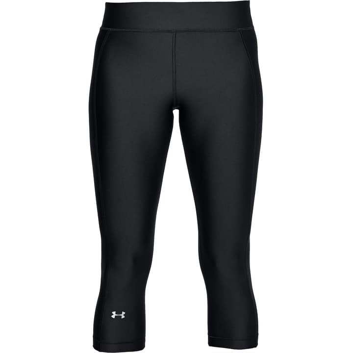 hg Armour Capri Womens Leggins 3/4 pour femme Under Armour 464917100320 Couleur noir Taille S Photo no. 1