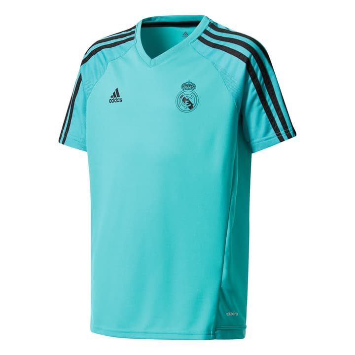 Real Madrid Training Jersey Youth Shirt de football pour enfant Adidas 464529812865 Couleur petrol Taille 128 Photo no. 1