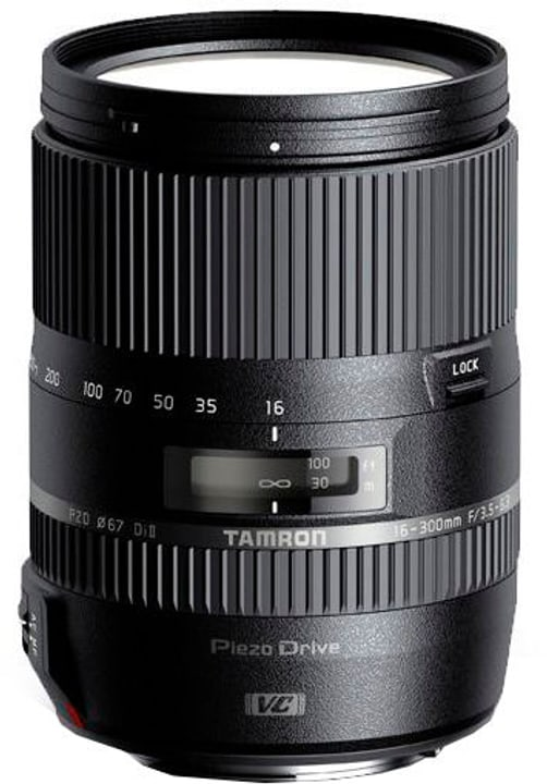 AF 16-300mm f / 3.5-6.3 Di II VC PZD  Macro Nikon Obiettivo Tamron 785300123868 N. figura 1