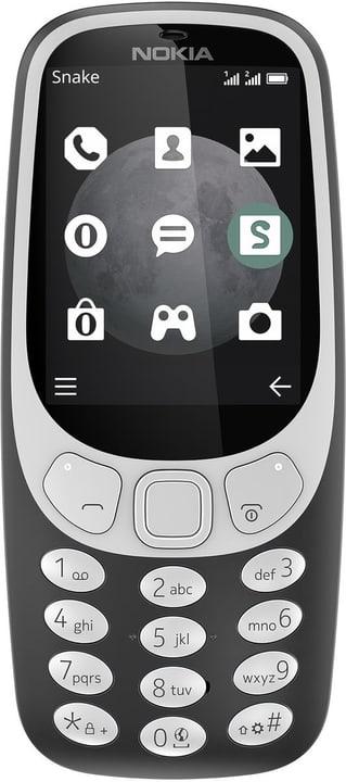 3310 3G Single Sim  charcoal Mobiltelefon Nokia 785300133255 Photo no. 1
