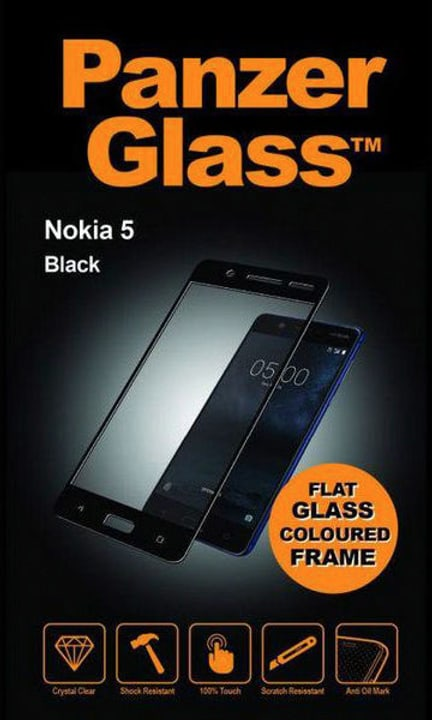 Classic Nokia 5 - noir Protection d'écran Panzerglass 785300134529 Photo no. 1