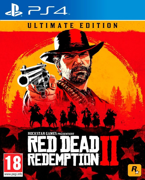 PS4 - Red Dead Redemption 2 - Ultimate Edition (D) Box 785300139010 Lingua Tedesco Piattaforma Sony PlayStation 4 N. figura 1