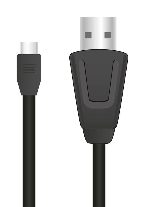 STREAM Play & Charge Cable Set pour PS4 black Station de recharge Speedlink 797923600000 Photo no. 1