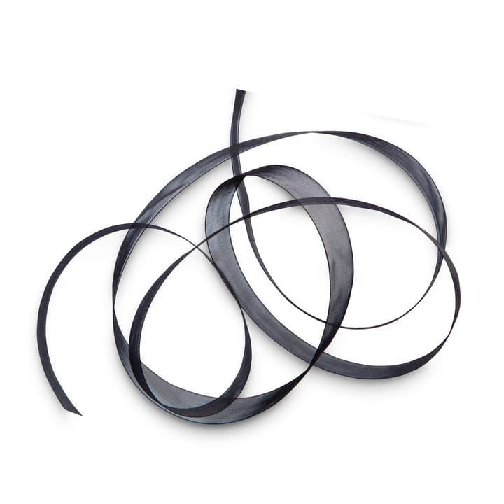 ORGANSA Geschenkband 15 mm  x 5 m 386183000000 Grösse B: 500.0 cm x T: 1.5 cm x H: 0.1 cm Farbe Schwarz Bild Nr. 1