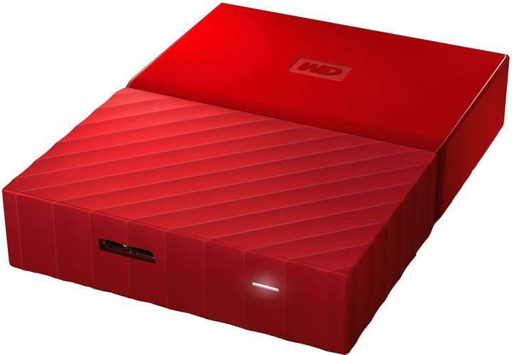 My Passport 2TB Disco rigido esterno 2.5'' rosso Hard disk Esterno HDD Western Digital 785300137860 N. figura 1