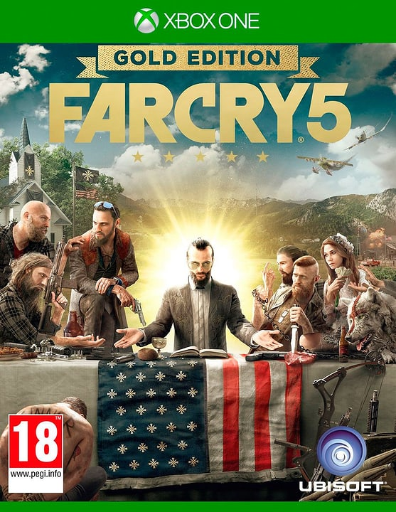 Xbox One - Far Cry 5 - Gold Edition 785300129214 N. figura 1