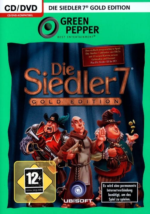 PC - Green Pepper: Siedler 7 - Gold Edition Physique (Box) 785300121634 Photo no. 1