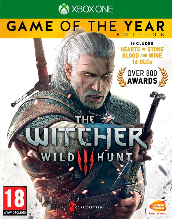 Xbox One - The Witcher 3: Wild Hunt GOTY Box 785300121222 N. figura 1